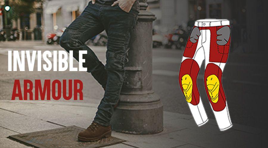 Ropa de moto con protecciones para el día a día